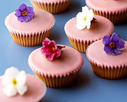 Flower Fairy Cakes Recipe - Party food