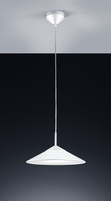 R32031201 Trio - TONI - závesná LED lampa biela - 320mm