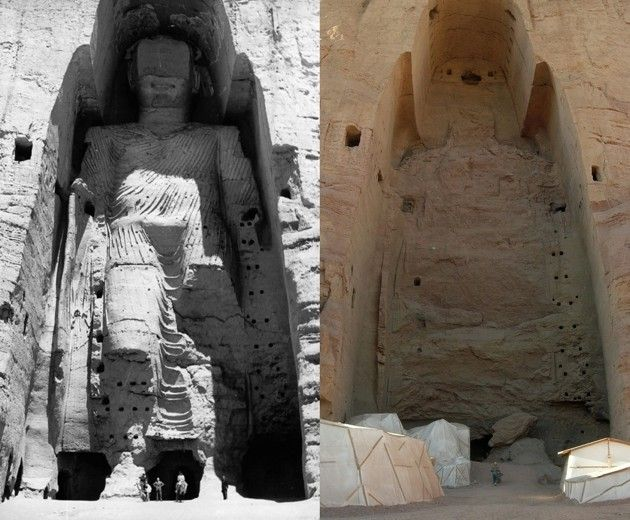 Afghanistan's Buddhas destroyed by the Taliban now resurrected as holograms.