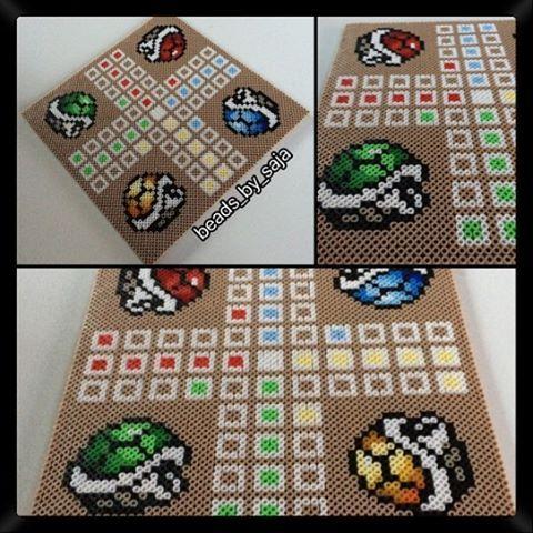 Mario ludo nabbi beads by beads_by_saja