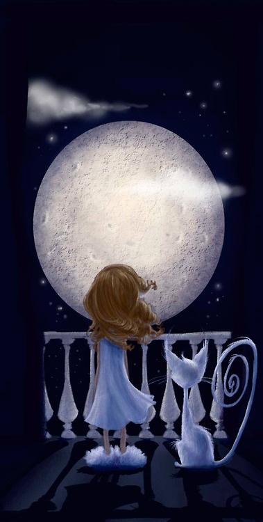 la luna,Sweet Dreams