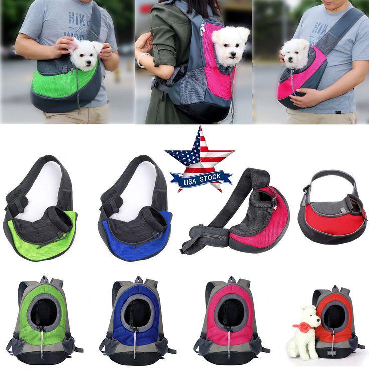 Pet Dog Cat Puppy Carrier Comfort Travel Tote Shoulder Bag Sling Backpack S/L   eBay