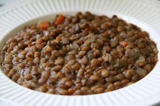 lentil soup with ham hocks for the crock pot