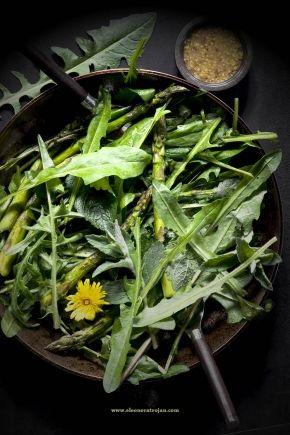 #asparagus #szparagi # #dandelion #mniszek