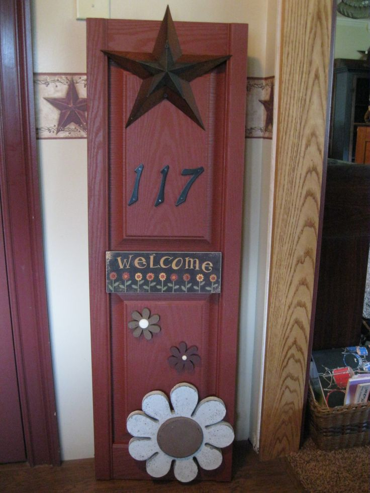 154 best shutter crafts images on pinterest shutter for Country craft house