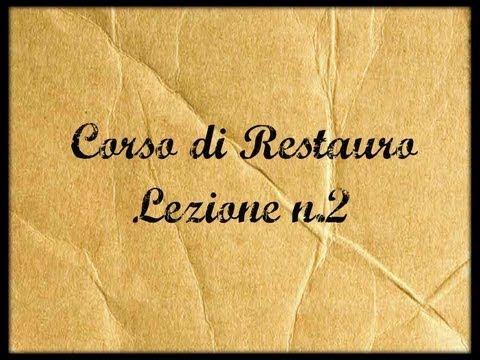 ▶ Corso di Restauro -Lez.2 (Gli strumenti del Restauratore) - Arte per Te- - YouTube