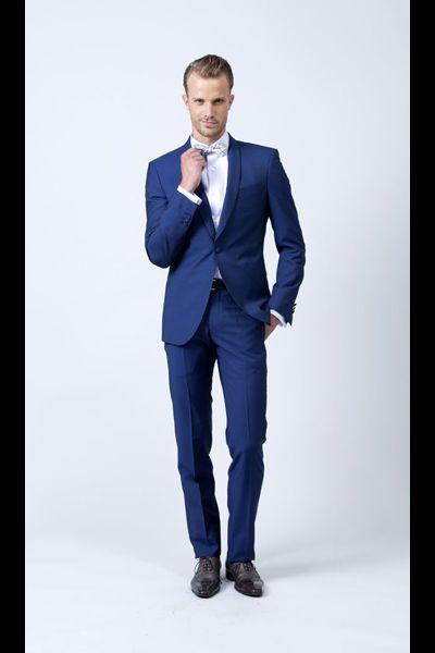 Samson Costume rock de marie bleu homme mariage - 15 costumes de marié pour rester soi-même le jour J - L'EXPRESS