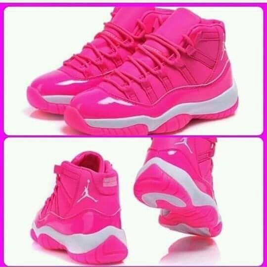 Pink jordan 11
