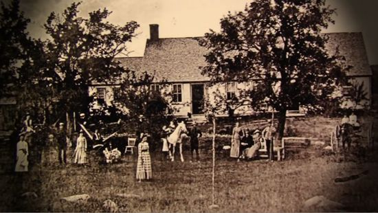The Perron Family House,-Old Brook Farm, Harrisville, Rhode Island