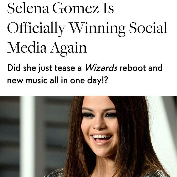 @selenagomez Is Officially Winning Social Media Again  The queen is back to claim her throne. After taking a 3-month longsocial media hiatusfrom August 12 to November 25 Selena looks to be getting back to her 103 million follower-having selfie-taking social media savvy self. Yesterday she blessed Selenators with not one but TWO Instagram posts that fans suspect may be a peek at the new Latin music she's said to be creating with Mexican singerPaulina Rubio. Selena captions one of the photos…