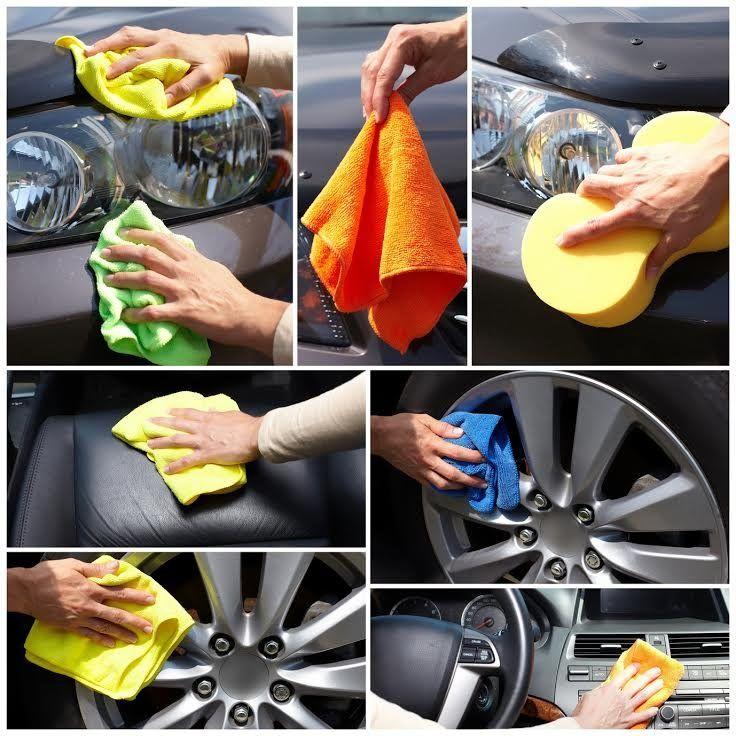 Wyroby #Duotex® wykonane są z rozdzielonych mikrowłókien, które przyciągają brud jak magnes ➡http://www.higienaserwis.pl/