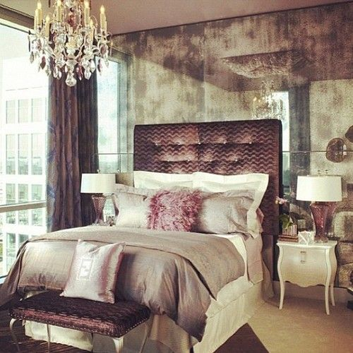 Small Bedroom Chandeliers Bedroom Wall Colour Images Bedroom Ideas With Chandeliers Log Cabin Bedroom Decor: 34 Gorgeous Tufted Headboard Design Ideas
