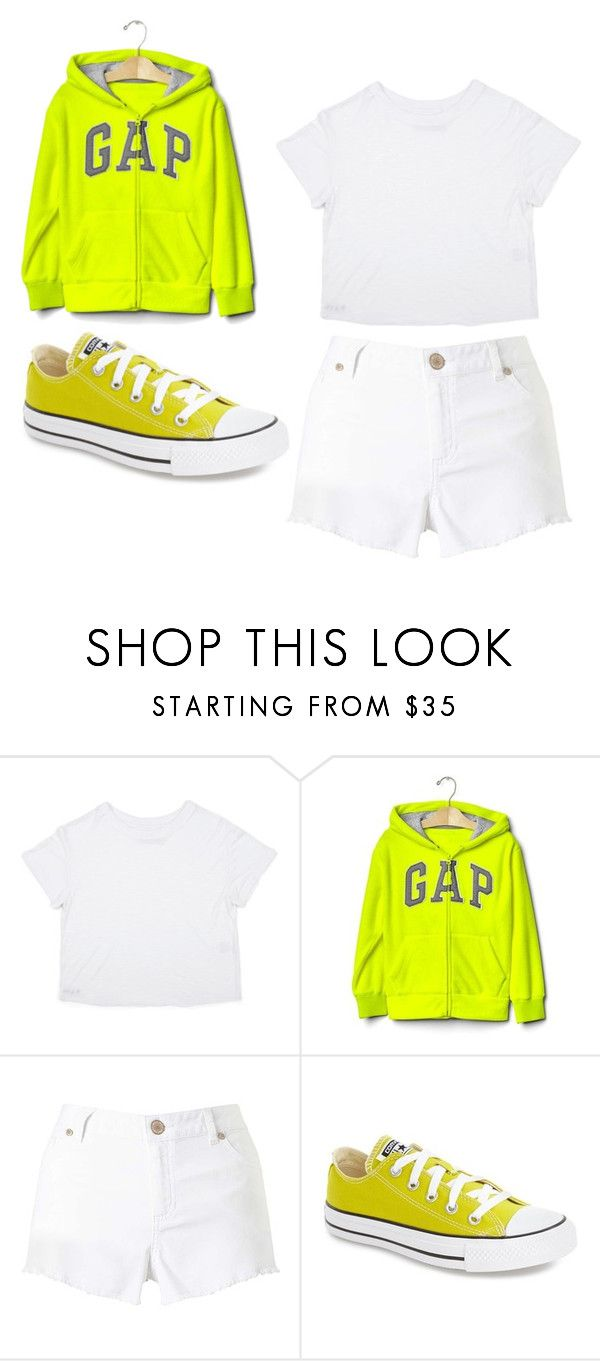"""c"" by tiyati on Polyvore featuring Gap, Miss Selfridge and Converse"