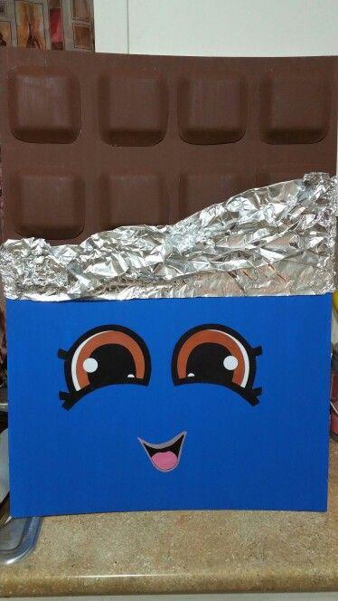 Cheeky chocolate shopkin costume