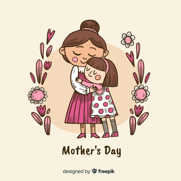 Download Hand Drawn Mother S Day Background For Free Mothers Day Drawings Mother S Day Background Mom Art
