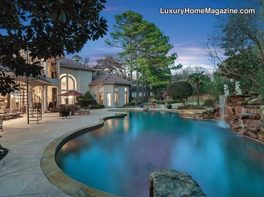 17 best images about dallas ft worth luxury home magazine for Garden oases pool entrance