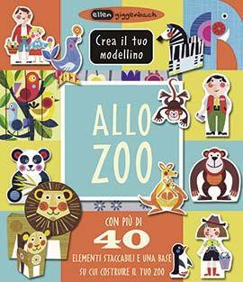 ALLO ZOO CREA IL TUO MODELLINO  Autore: GIGGENBACH EAN: 9788860235503 Editore: IDEEALI Collana: CREATIVITA' BAMBINI Pagine: 10  Benvenuto allo zoo! Inventa le tue storie con il modellino di zoo dell'artista della carta Ellen Giggenbach. Più di 40 elementi staccabili e un cartellone da usare come base per il tuo zoo: ecco tutto ciò di cui hai bisogno per divertirti e creare!  € 12,00