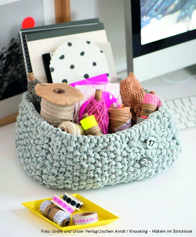 DIY Knookingset Korb // knooking set basket via DaWanda.com