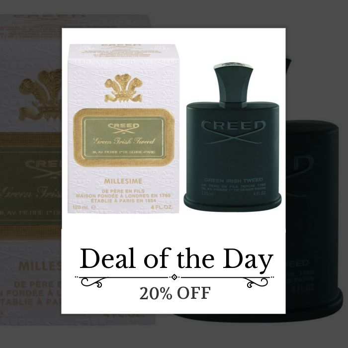 Today Only! 20% OFF this item.  Follow us on Pinterest to be the first to see our exciting Daily Deals. Today's Product: Creed Green Irish Tweed 120ml/4.oz Millesime Spray Men Cologne Scent Fragrance Buy now: https://small.bz/AAYC4Pe #fashion #perfume #smellgood #picoftheday #instacool #onlineshopping #instashop #loveit #instafollow #shop #shopping #love #OTstores #smallbiz #instagood #musthave #photooftheday #sale #dailydeal #dealoftheday #todayonly #instadaily