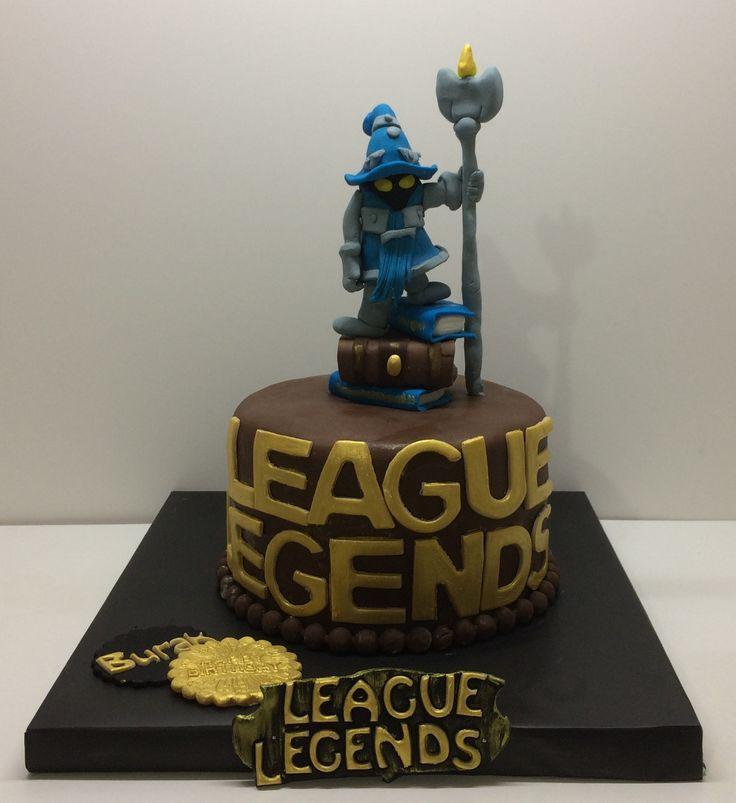 Mobile Legends Cake Design