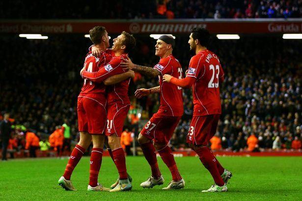 Agen Bola - Laporan Pertandingan: Liverpool 4-1 Swansea City