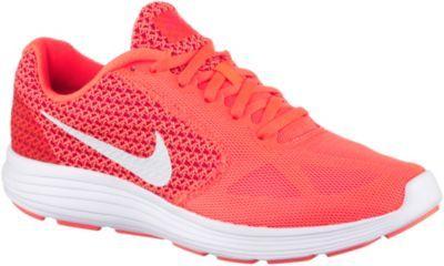 Nike Revolution 3 Laufschuhe Damen orange