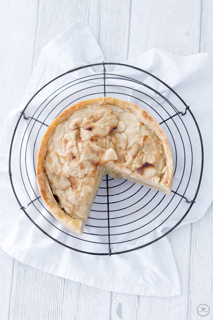 Holländischer Apfelkuchen / www.backbube.com - Foodblog