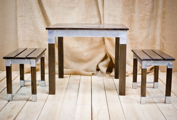 Namib Table and Benches