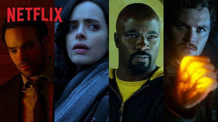 Por fin! Mira el tráiler de The Defenders de Marvel y Netflix #trailer #series #marvel
