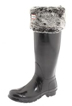Faux fur Hunter boot liners. Perfect with my grey Hunters I got last year for Christmas!