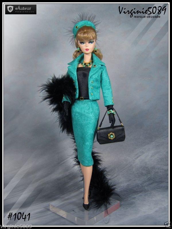 Tenue Outfit Accessoires Barbie Silkstone Vintage Integrity Toys 1041 | eBay