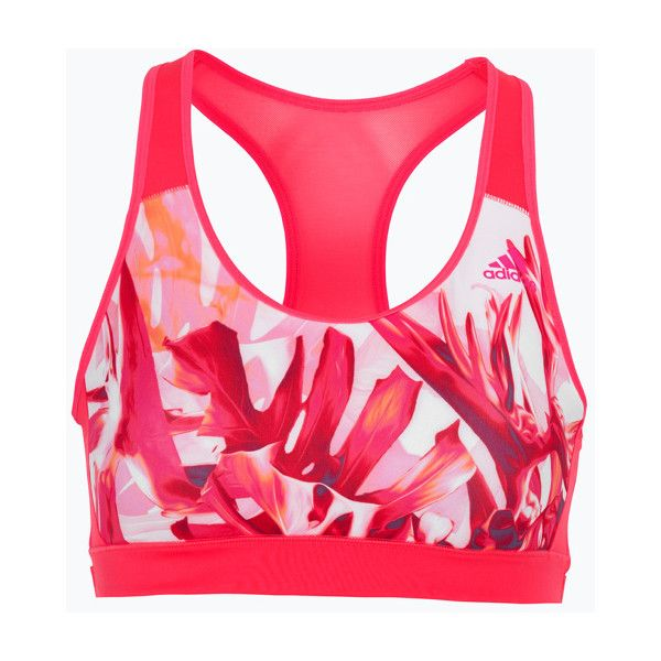 adidas Sport Performance Sports-bh RB Bra Olympic ($45) ❤ liked on Polyvore featuring activewear and sports bras