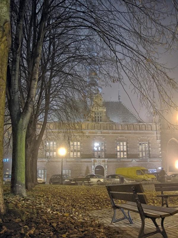 Gdańsk by night