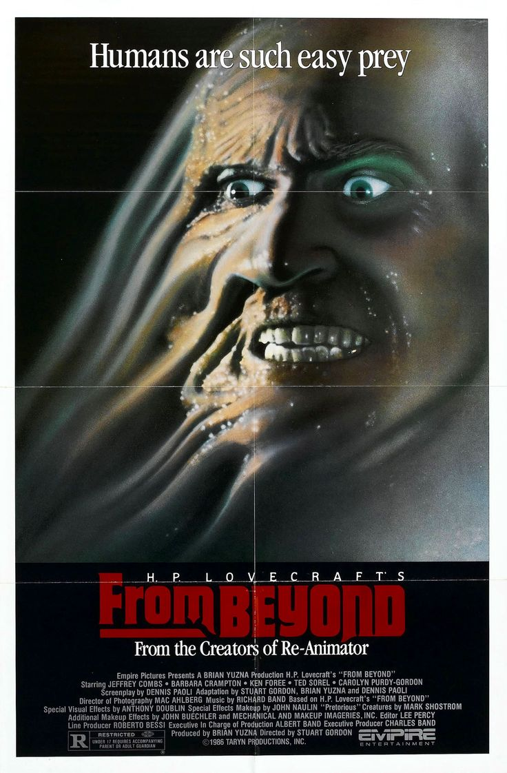 best monster movies images horror films horror from beyond re sonator 1986 acircmiddot hp lovecraftscary movies80s
