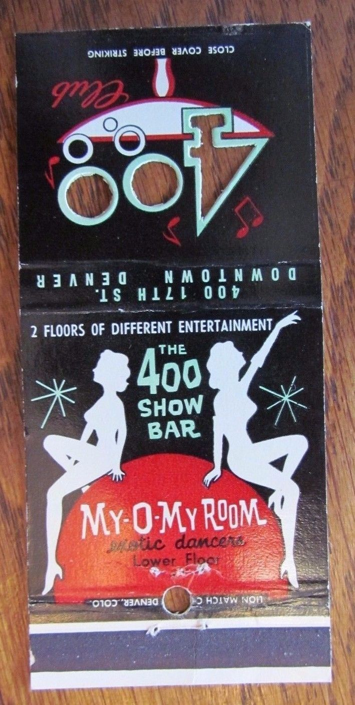 157 Best Burlesque Amp Nightclub Matchbook Covers Images On