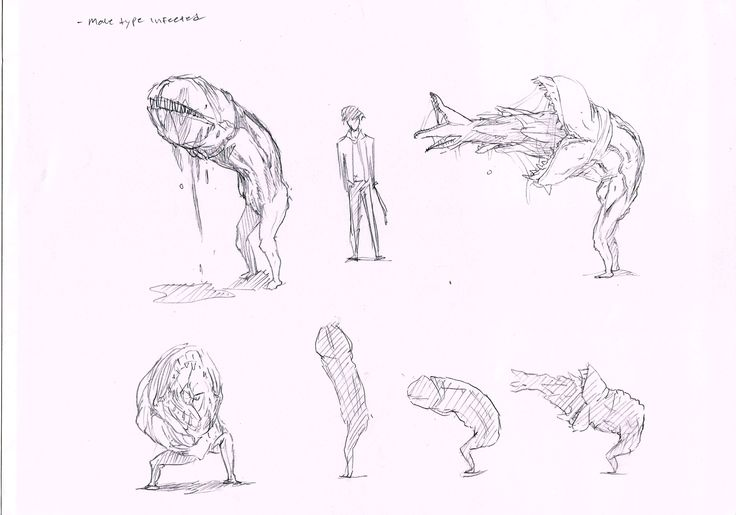 character concept monster
