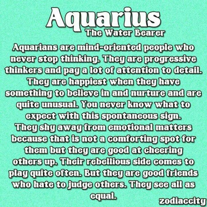 Aquarius Personality Traits Female Related Keywords - Aquarius ...