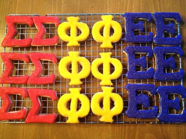 Sigma Phi Epsilon Cookies. Yum :D