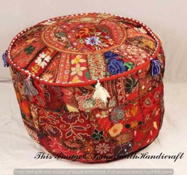 This Item Is Unavailable Pouf Ottoman Ottoman Stool Patchwork