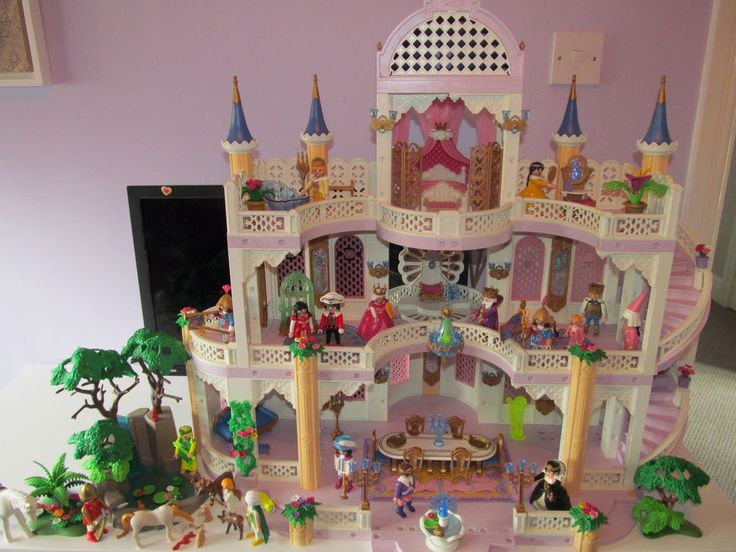 Playmobil Fairy Dream Princess Castle 3019 + Waterfall + instruction manuel
