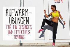 Aufwärmübungen vor dem Training sind wichtig, um deinen Körper auf das Training vorzubereiten. Wir zeigen dir, wie du dich richtig aufwärmst.