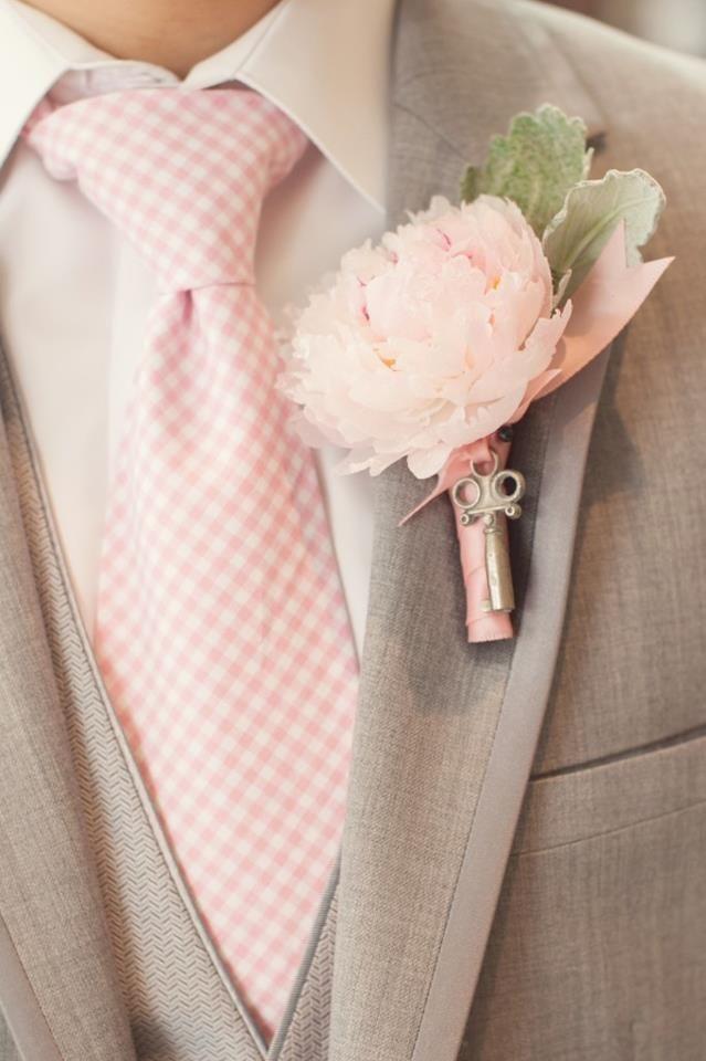 Pastel Pink Groom ... Key to Love... ... Groom's Guide ... https://itunes.apple.com/us/app/the-gold-wedding-planner/id498112599?ls=1=8  The Gold Wedding Planner iPhone App ...