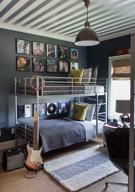 21 cool shared teen boy rooms d cor ideas shared room - Bedroom ideas for teenage guys with small rooms ...