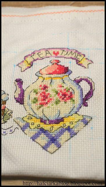 "Hafciarka: SAL ""Tea Time"" - cz. II"