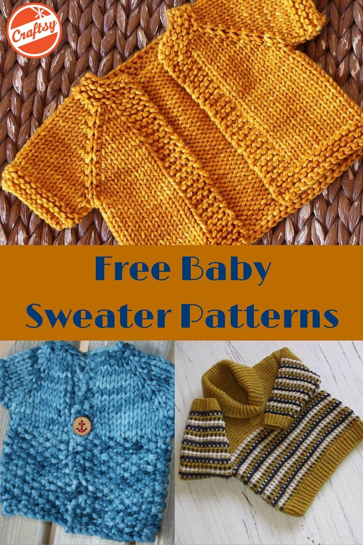 Does a special little someone need a sweater? We've got hundreds of free baby sweater patterns just waiting to be knit.