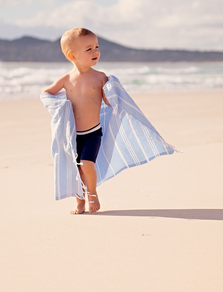 Classic Small Sky Cotton Turkish Towel