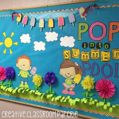 Primavera decoraci n aula pinterest periodico mural for Deportes para el periodico mural