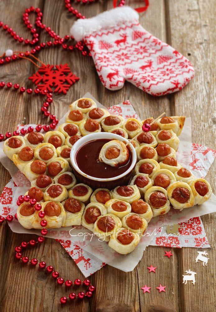 Antipasti Di Natale Wurstel.Stella Di Wurstel E Pasta Sfoglia Ricetta Antipasto Veloce Ricetta Ricette Ricette Antipasti Veloci Stuzzichini Per Festa