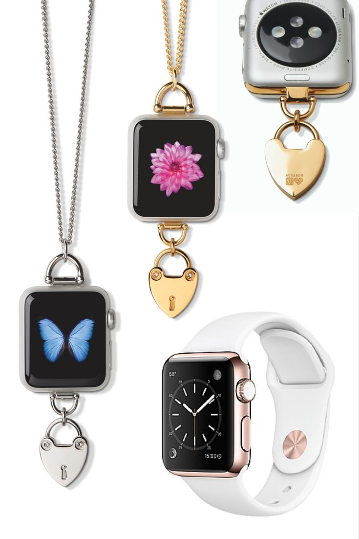 Have some fun with your Apple Watch! Bucardo's charm collection allows you to wear your Apple Watch off the wrist with our interchangeable accessories that slide easily in to the band slots of the Apple Watch.