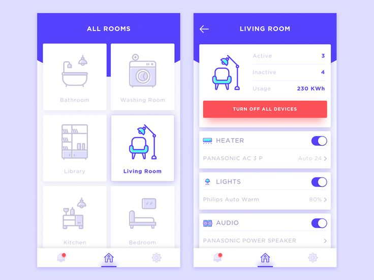 Smarthome apps by ibnu masud